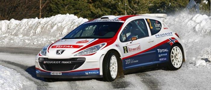 Petter Solberg - Photo Credit: Peugeot Sport