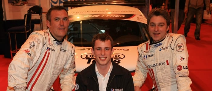 British GT drivers Palmer, Bell and Bintcliffe - Photo Credit: United Autosports