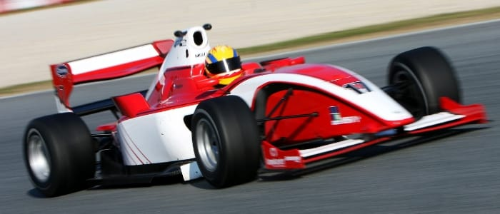 Snegirev joined F2 for all four days of winter testing in 2010