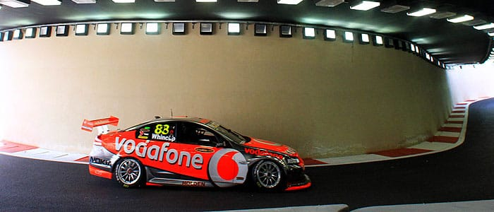 Jamie Whincup - Photo credit: Team Vodafone