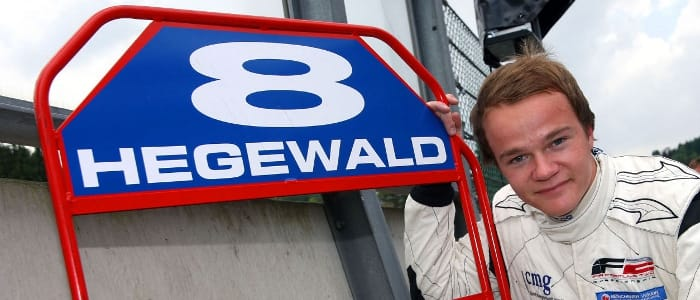 Hegewald dominated at Spa Francorchamps in 2009