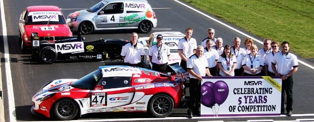 MSVR celebrate the company's fifth birthday