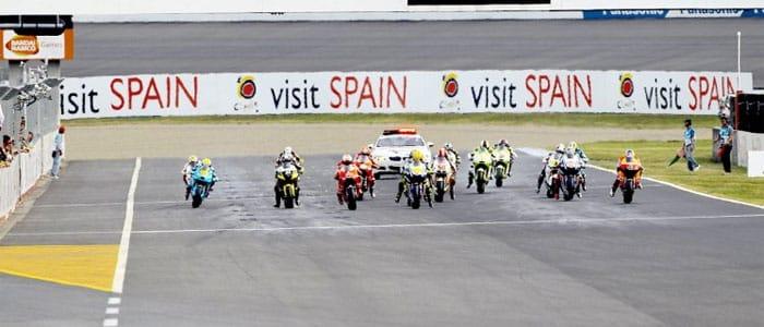 2010 MotoGP Japanese Grand Prix Start - Photo credit: MotoGP.com