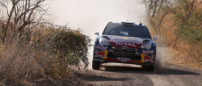 Sebastien Ogier - Photo credit: Citroen Racing
