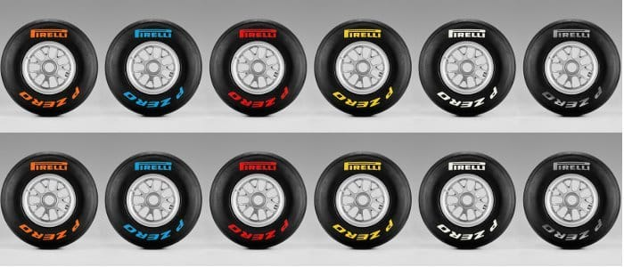 Pirelli Reveal Tyre Colours For 2011 F1 Range The Checkered Flag