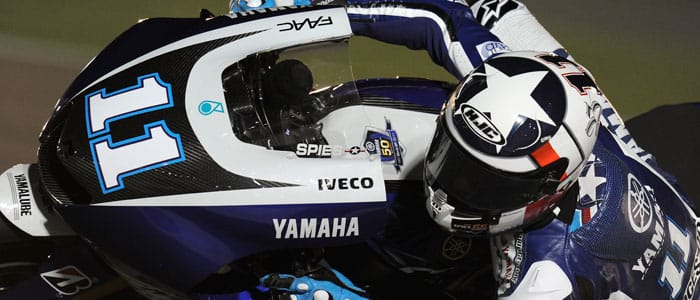 Ben Spies - Photo credit: Yamaha MotoGP