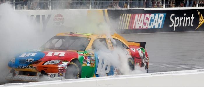 Kyle Busch - Photo Credit: Geoff Burke/Getty Images for NASCAR