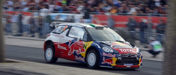 Ogier - Photo Credit: Citroen Racing Media