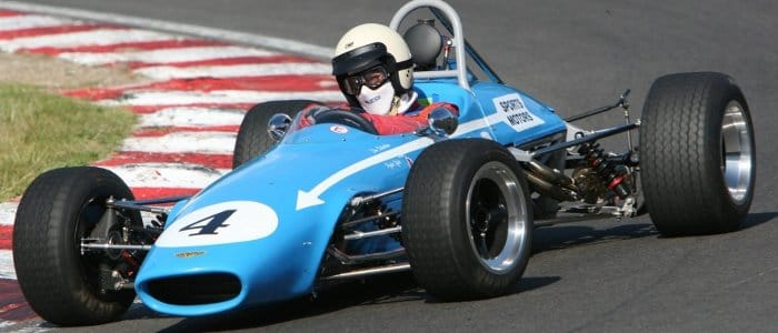 1000cc F3 car – this type of vehicles will be in action in the Peter Hanson Trophy