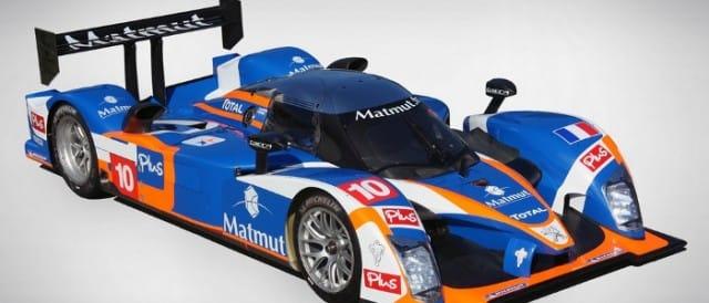 New livery for oreca peugeot endurance racing
