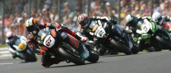 Byrne leads at Brands - Photo Credit: Honda Racing