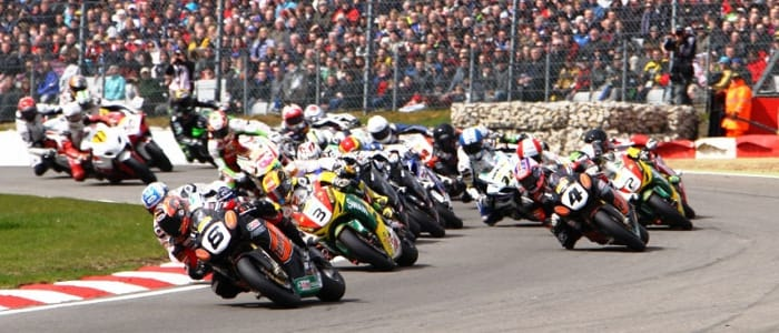 The British Superbike Championship at Brands Hatch