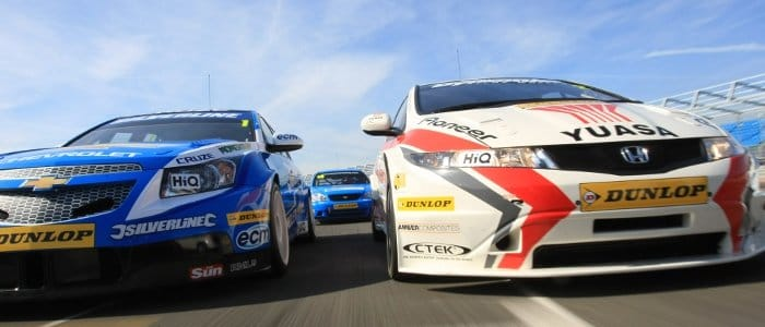 Chevy v Honda - Photo Credit: BTCC.net