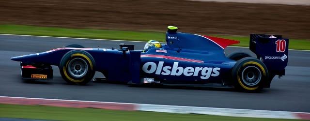 Marcus Ericsson - Photo Credit: Malcolm Griffiths/GP2 Media Service