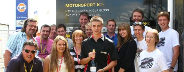 Matt Hamilton was a popular HiQ champagne moment winner in 2010 – and the youngest!