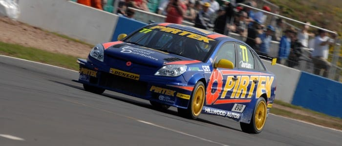 Andrew Jordan at Donington Park - Phot Credit: Chris Gurton Photography