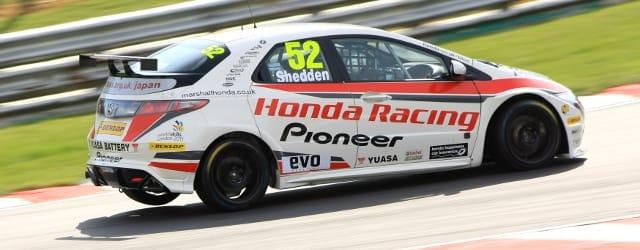 Gordon Shedden - Photo Credit: Honda
