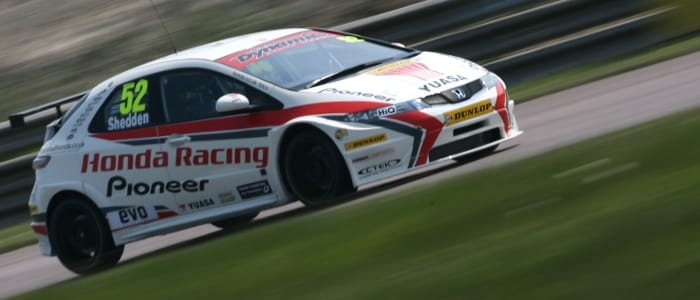 Gordon Shedden - Photo Credit: BTCC.net