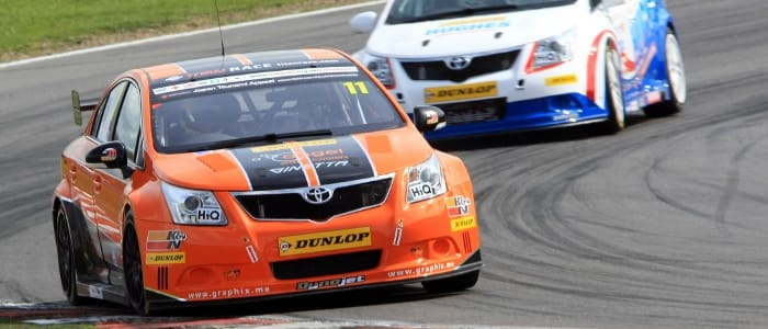 BTCC Toyotas - Photo Credit: Toyota