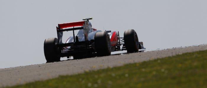 Jenson Button uses DRS in Turkey - Photo Credit: Vodafone McLaren Mercedes
