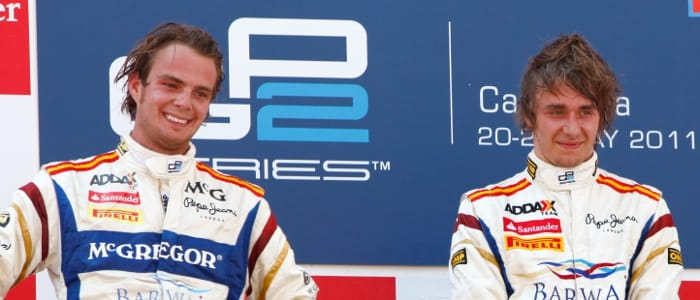 van der Garde and Pic - Photo Credit: Alastair Staley/GP2 Media Service