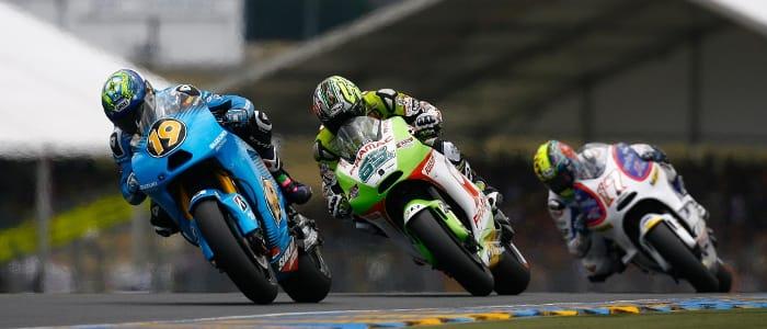 Alvaro Bautista - Photo Credit: Rizla Suziki Moto GP