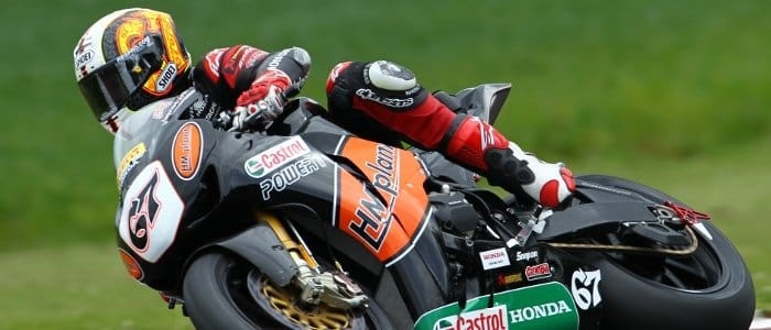 Shane Byrne - Photo Credit: Honda Racing