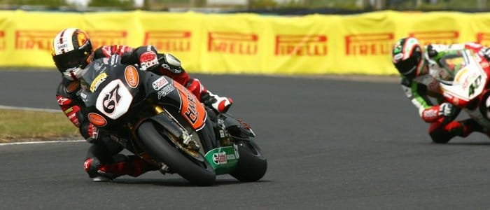 Shane Byrne - Photo Credit: Pirelli Moto