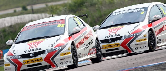 Honda Racing Team - Photo Credit: BTCC.net