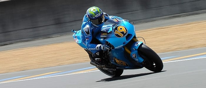 Rizla Suzuki - Photo Credit: Rizla Suzuki Moto GP