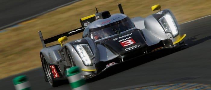 Audi R18 no.3 - Photo Credit: Audi Motorsport