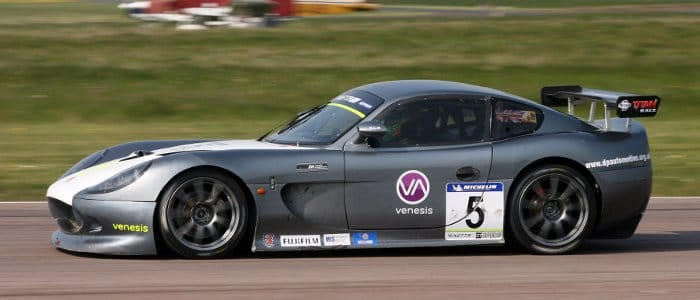 Andrew Richardson At Thruxton (Credit: Jakob Ebrey Photography)