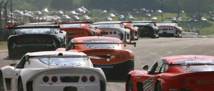 Ginetta GT Supercup Field At Oulton (Credit: Jakob Ebrey Photography)
