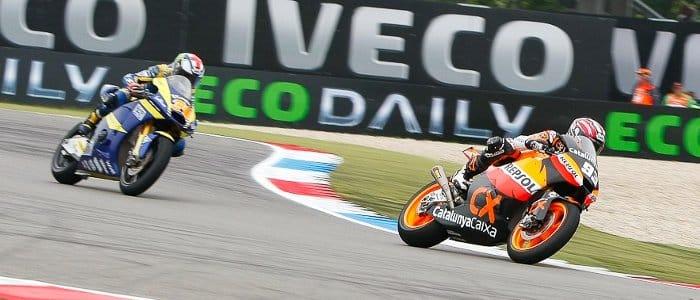 Marquez leads the way - Photo credit: MotoGP.com