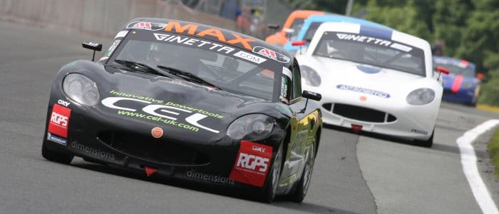 Coates Competed In Ginetta Juniors For Two Years