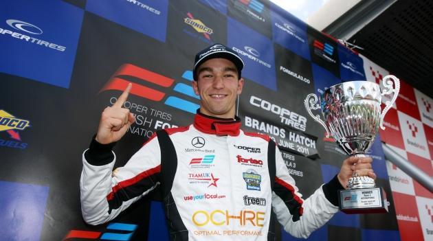 Harry Tincknell - Photo Credit: Formula3.co