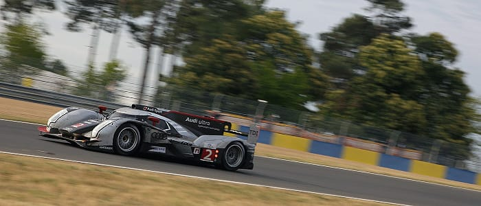 Audi continue to lead - Photo credit: Audi Motorsport