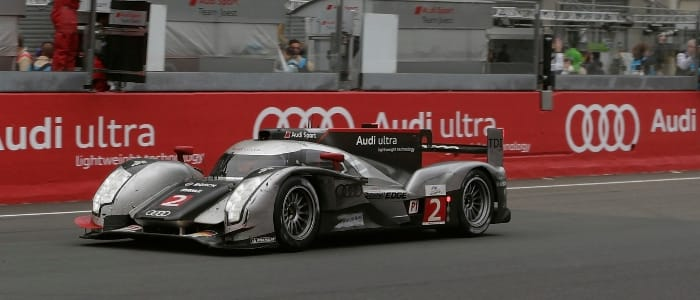 The winning Audi R18 - Photo Credit: Audi Motorsport