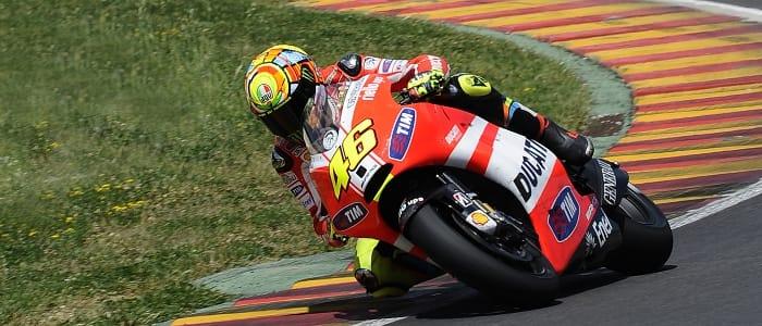 Valentino Rossi - Photo Credit: Ducati Corse