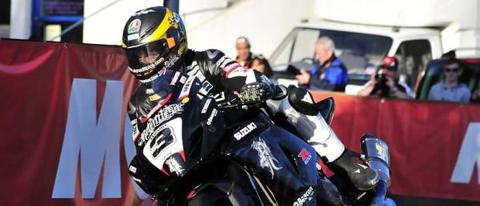 Guy Martin - Photo Credit: Suzuki Racing