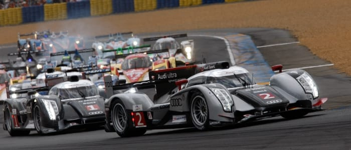 Le Mans 24 Hours start - Photo Credit: Audi Motorsport