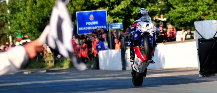 John McGuinness - Photo Credit: Isle of Man TT