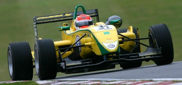 Brazilian Felipe Nasr took control of the latest official British Formula 3 testing session on Friday at the Brands Hatch circuit. The rain held off for the morning session, in...
