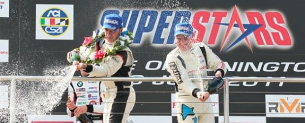 Superstars Donington Race 1 Podium - Photo Credit: Superstars Series