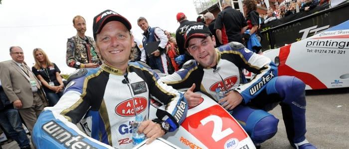 Sidecar TT winners - Photo Credit: Isle of Man TT