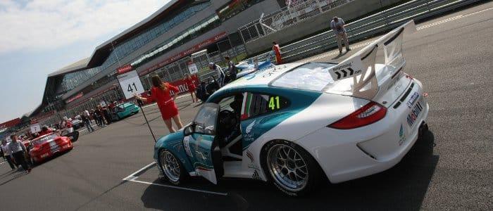 Ahmad Al Harthy on the Silverstone grid (Credit: Jakob Ebrey Photography)