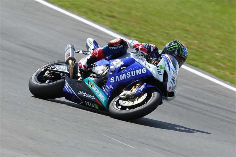 John Hopkins at Snetterton - Photo Credit: Suzuki Racing