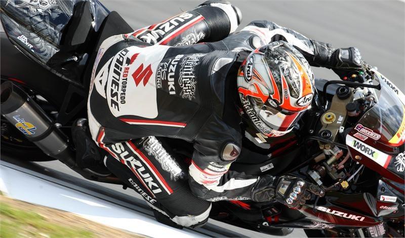 Josh Brookes at Snetterton - Photo Credit: Suzuki Racing