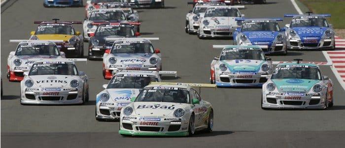 Porsche Supercup Field At Silverstone