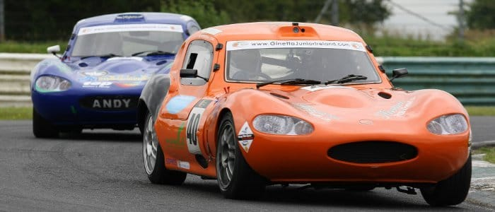 Sean Doyle Leads Andy O'Brien at Mondello (Credit: Anthony Levingston)